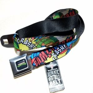 "Seat Belt Buckle Teenage Mutant Ninja Turtles 37""<"